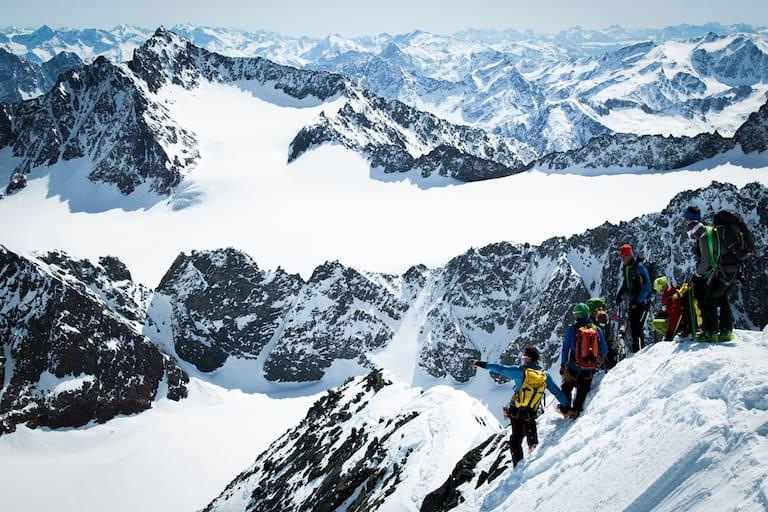 Die Ausbildung zum staatlich geprüften Berg- und Skiführer ist nicht nur eine physische, sondern auch mentale Herausforderung
