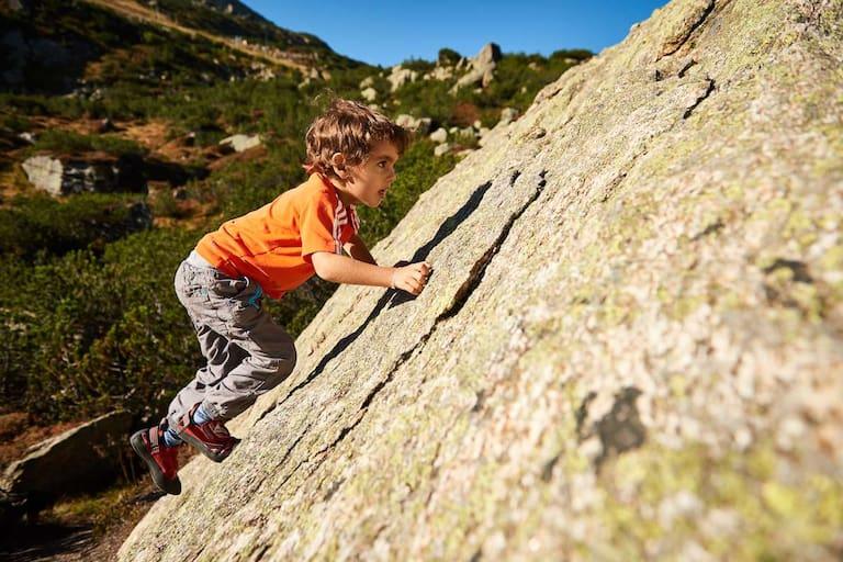 Boulderspaß, auch für die Kleinsten: Der Silvapark