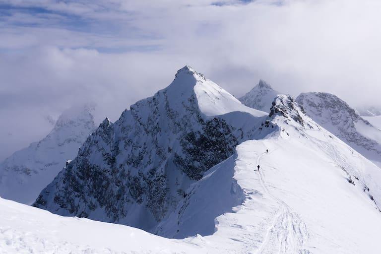 Skidurchquerung der Silvretta in Vorarlberg