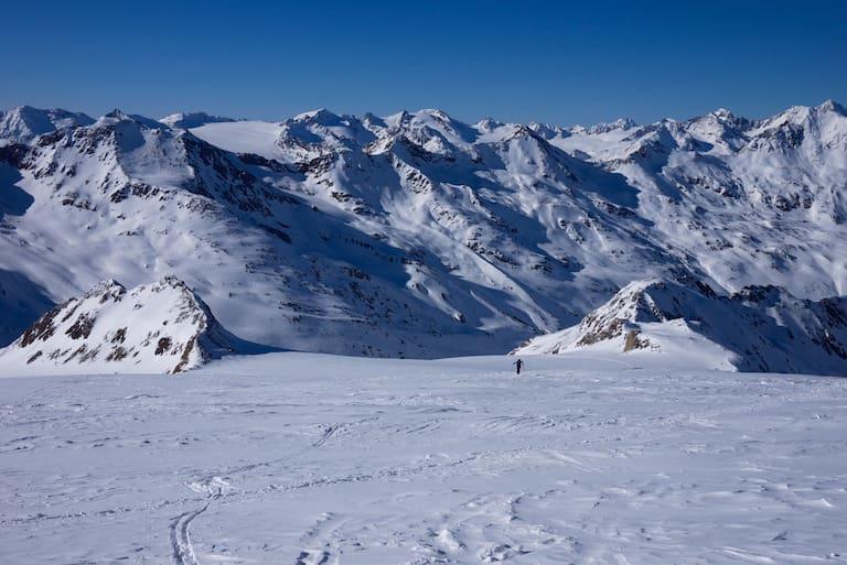Ötztaler Alpen, Similaun & Fineilspitze, Tirol