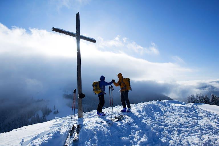 Hinteres Hörnle in den Ammergauer Alpen