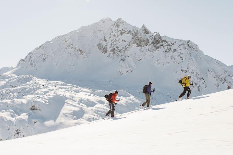 Skitour Breitspitze Galtür