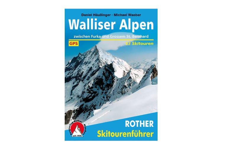 Skitourenführer: Walliser Alpen (Bergverlag Rother)