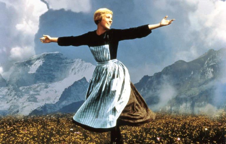 The Sound of Music: vor dem Untersberg singt und tanzt Julie Andrews