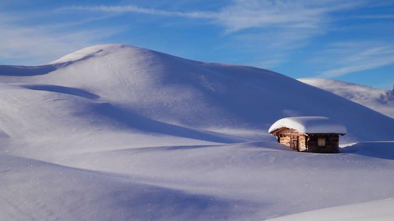 Rätikon: Winterlandschaft rund um St. Antönien im Prättigau