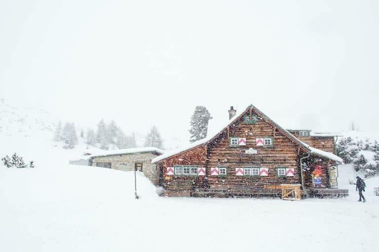 Die Südwiener Hütte in den Radstädter Tauern (1.802 m)