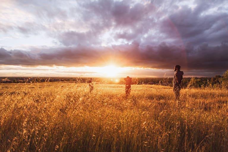 Sonnenzeiten: Wandern, wo die Sonne scheint