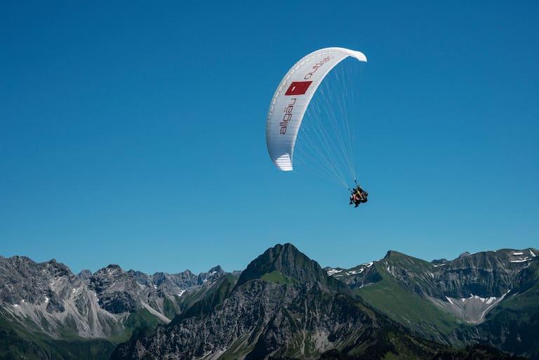 Tandem-Flug im Oberallgäu