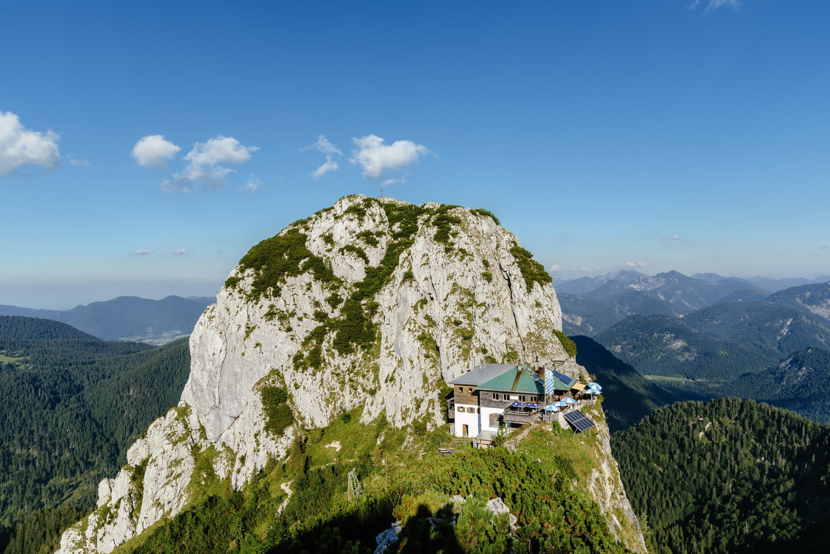 Klettersteig Tegernsee : Tegernseer hütte infos touren bergwelten