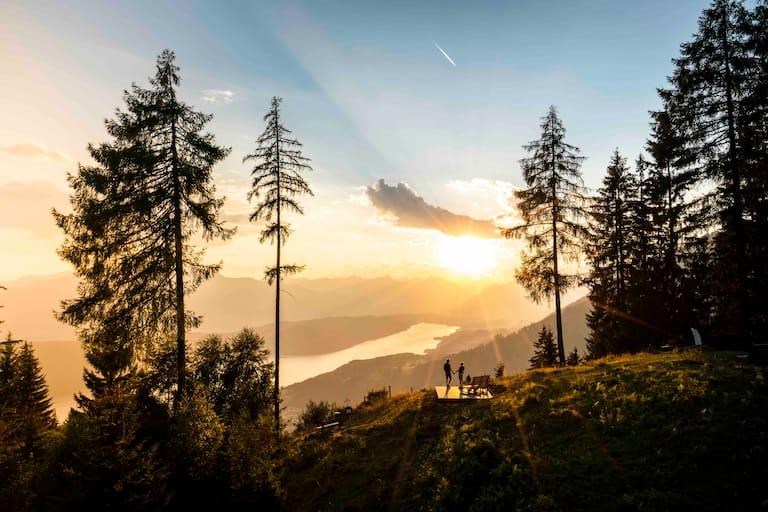 """Wunderschöne Ausblicke auf den See sind ständige Begleiter am """"Via Paradiso""""."""