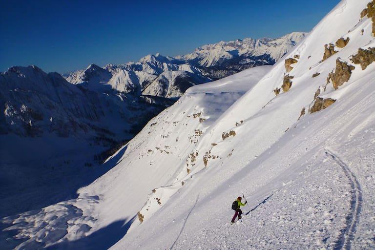 Winter: Auf Tour im Gelände