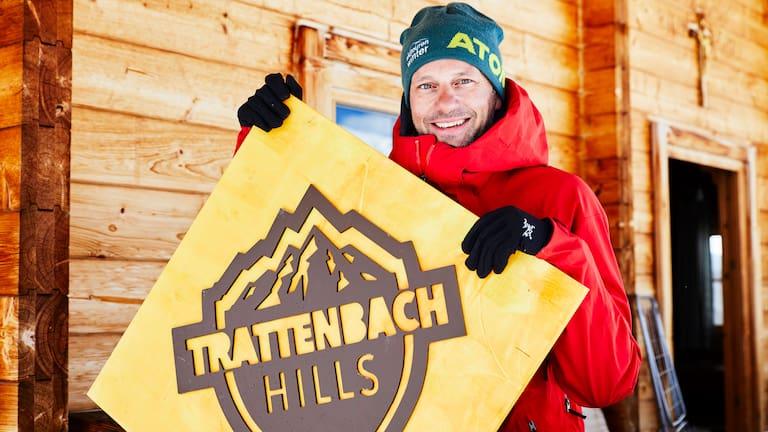 """Trattenbach Hills: Hans-Peter """"HP"""" Kreidl vor der Trattenbachalm in Salzburg"""