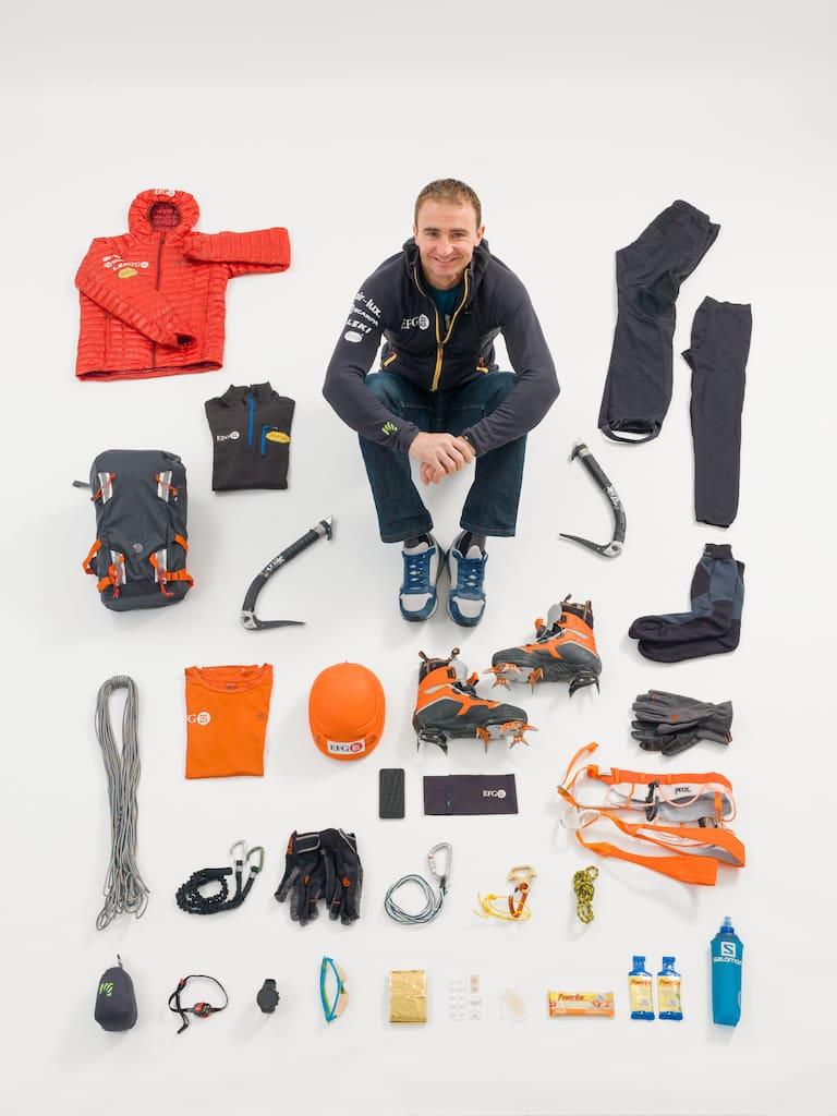 Ueli Steck: Gepäckkontrolle für Bergwelten
