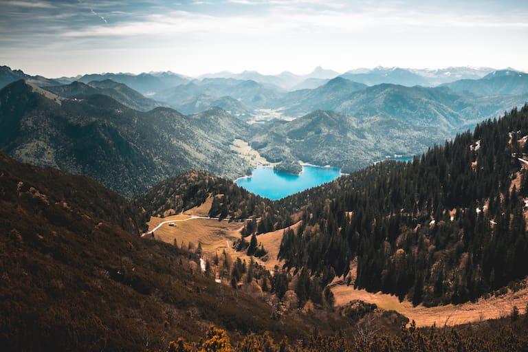 Der Walchensee in Bayern, immer einen Besuch wert