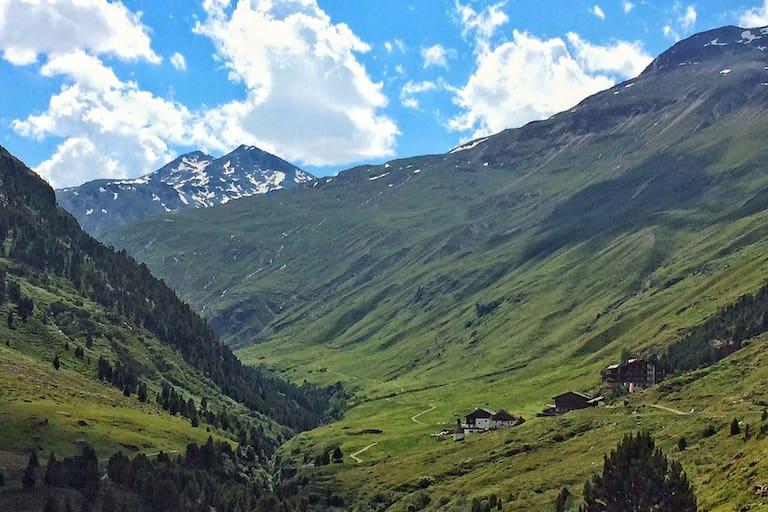 Bergsteigerdorf Vent im Ötztal