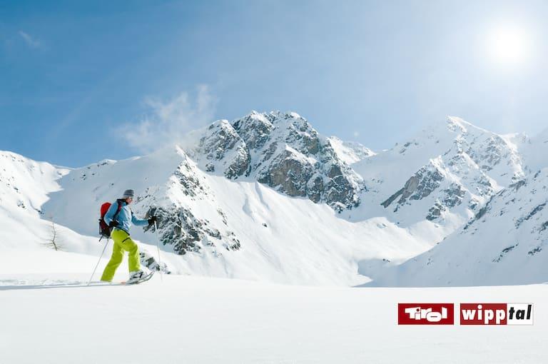 Unberührte Hänge & atemberaubende Bergkulisse im Wipptal