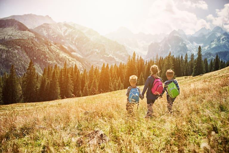 Wandern in Vorarlberg mit Kindern