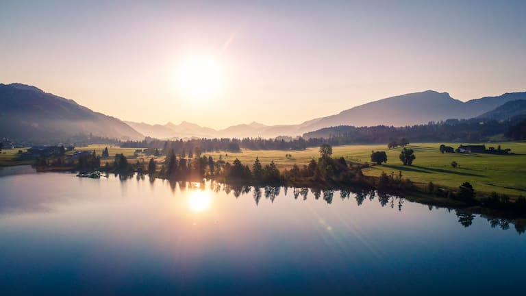 Am Walchsee in Tirol