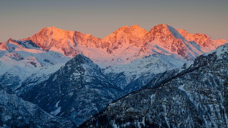 Weissmiesgruppe: Bergwelt der östlichen Walliser Alpen