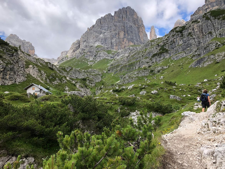 Wanderung zur Rifugio Tosa e Pedrotti