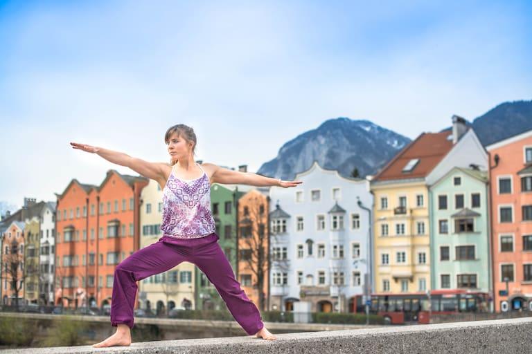 Yoga nach dem Wandern