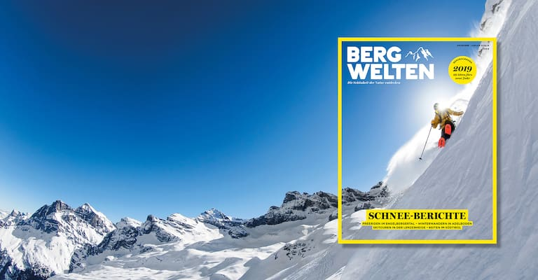 Das neue Bergwelten Magazin Schweiz (Dezember/Januar 2018/19)