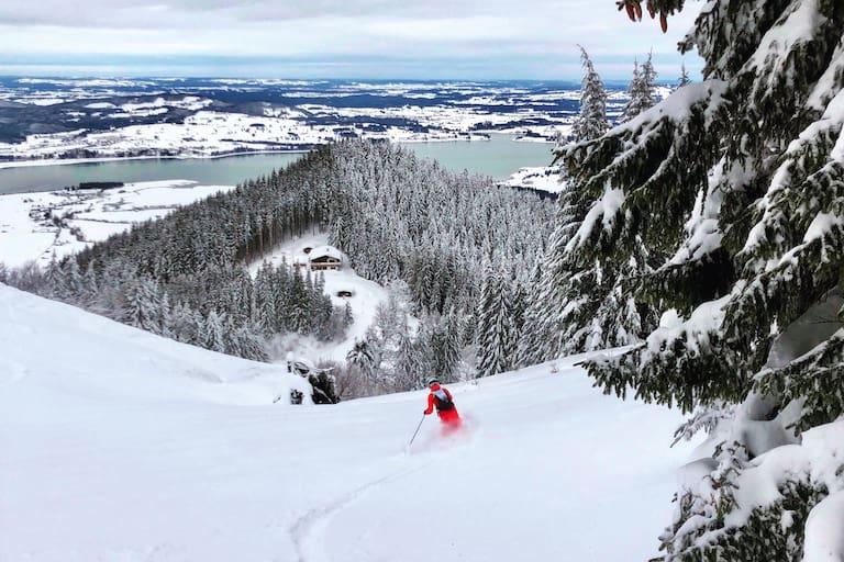 Skitouren-Hütten Bayern