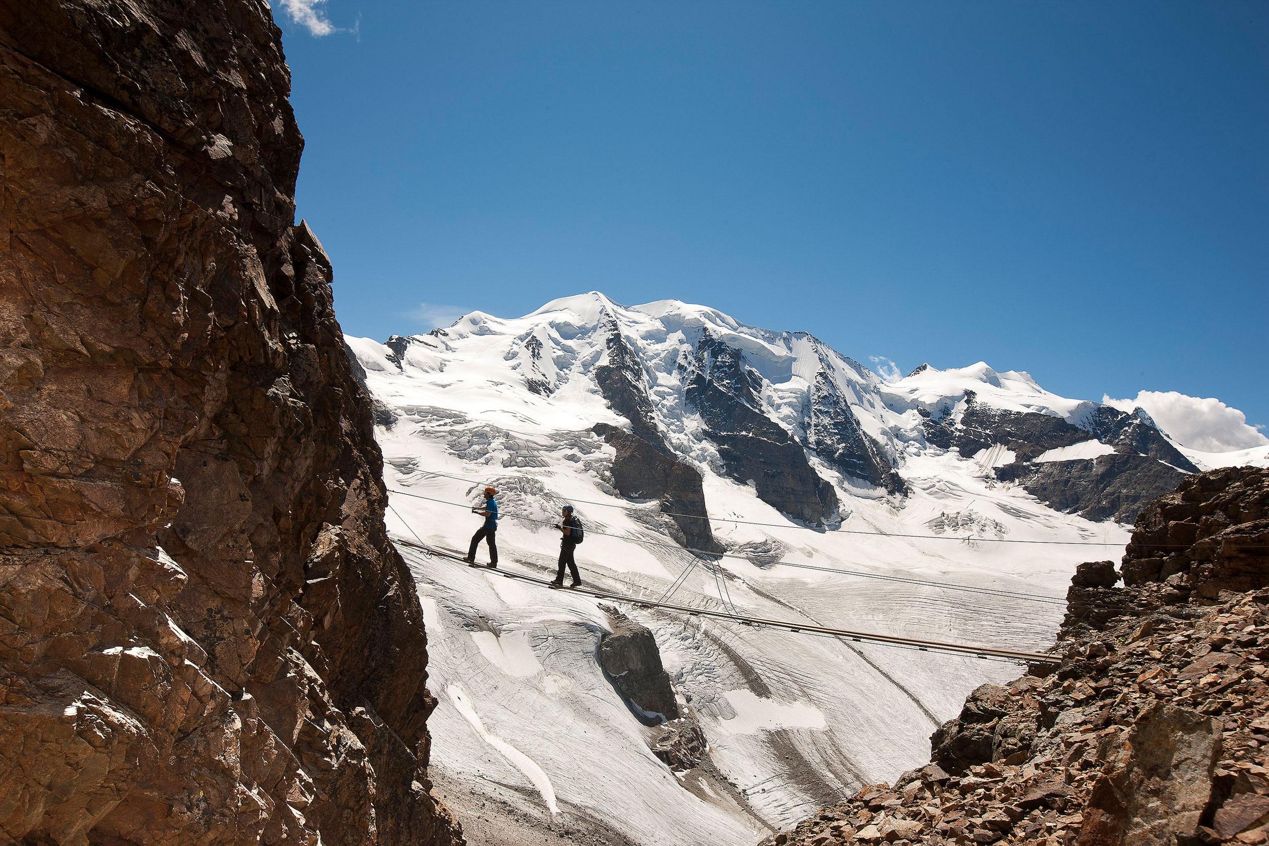 Klettersteig Ostschweiz : Klettersteiggehen in der schweiz bergwelten