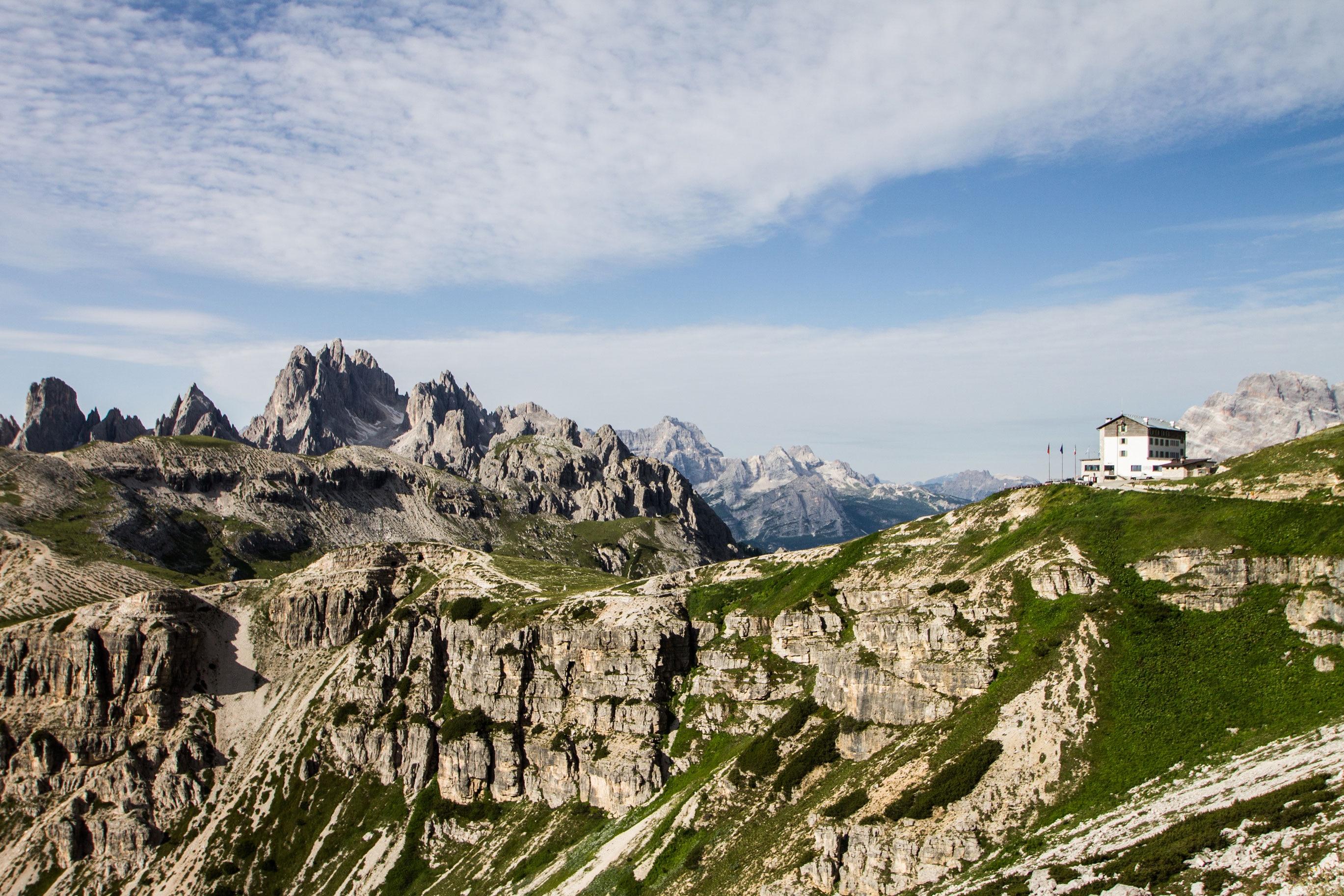 Foto Blog H Ttenwandern In Den Dolomiten Bergwelten