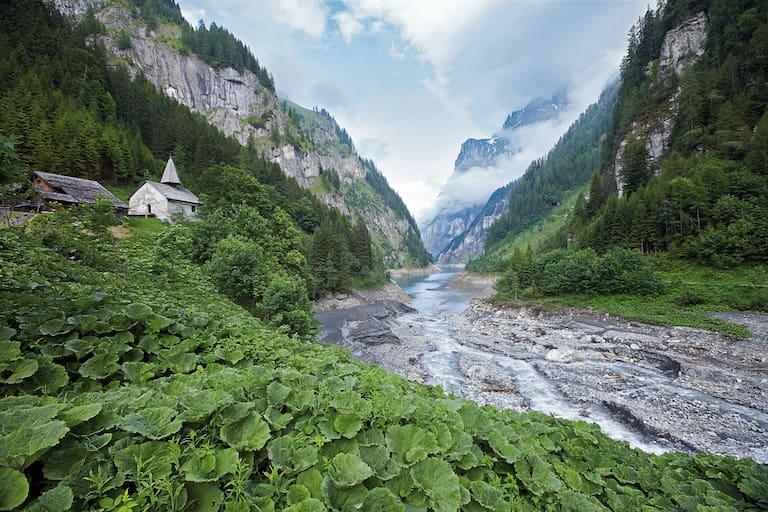 Calfeisental Stausee Gigerwald