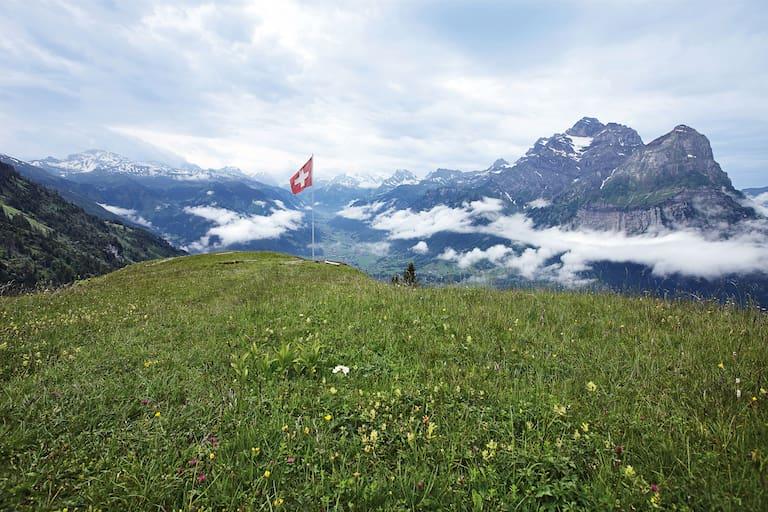 Glarus Schweiz Glärnisch