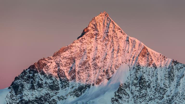 Schweiz: Weisshorn in den Walliser Alpen