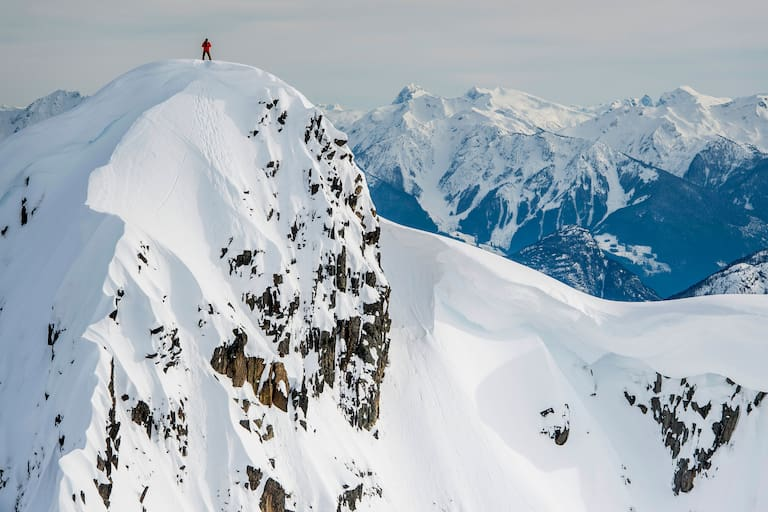 Top of the World: Bei Whistler in Kanada
