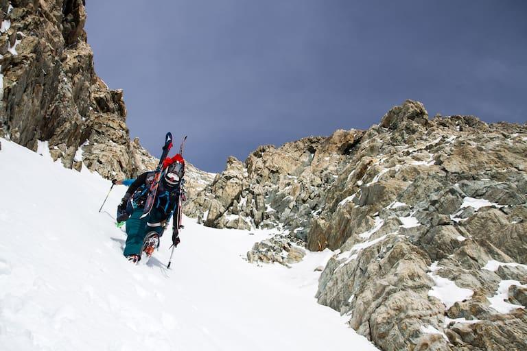 Aufstieg auf den Gora Pobeda