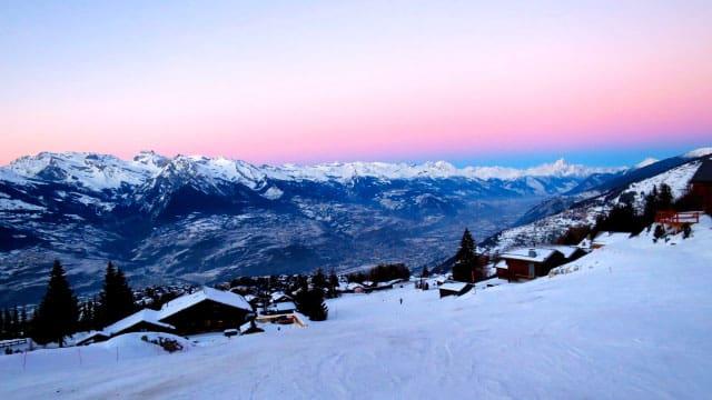 Winterwanderung bei Haute-Nendaz im Wallis