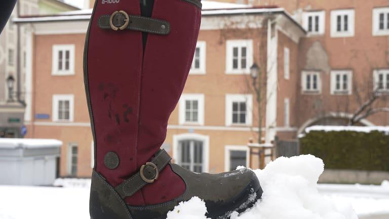 Winterwandern: Stiefel von Hanwag