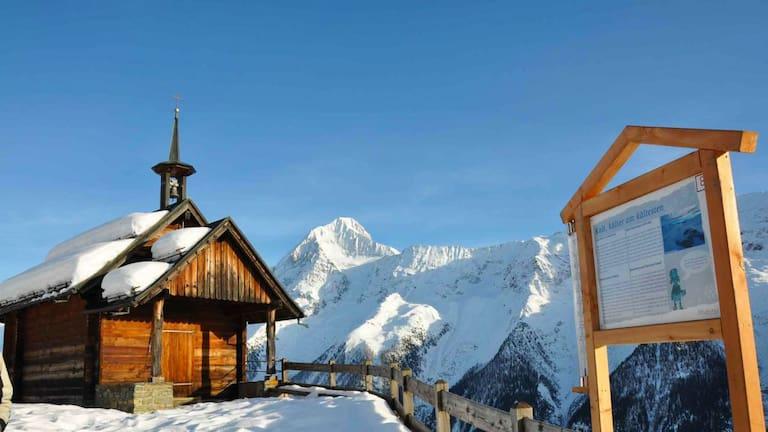 Winterwandern im Lötschental: Am Erlebnisweg Lauchernalp im Wallis