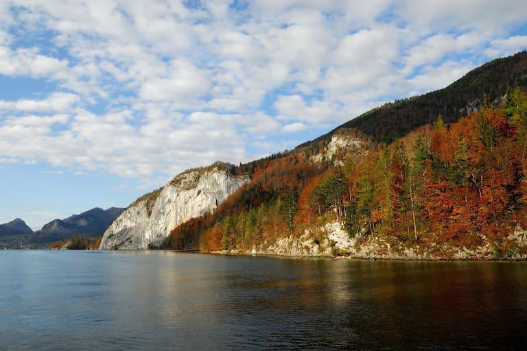 Wolfgangsee im Herbst