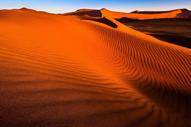 Namibwüste in Namibia