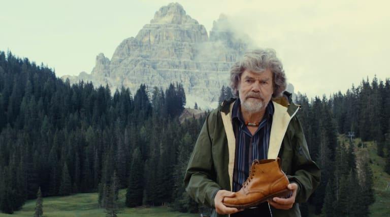 Reinhold Messner in den Dolomiten