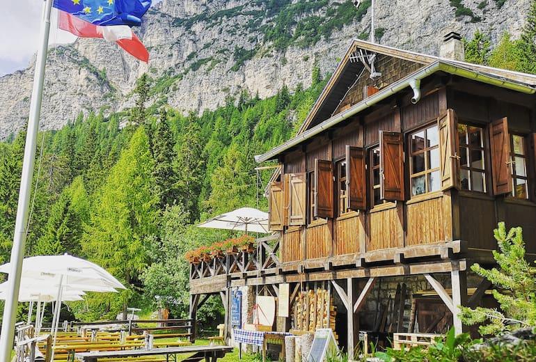 Die Überetscher Hütte