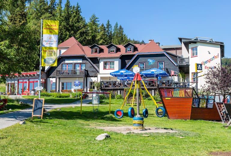 Alpengasthof Enzian: Außenansicht