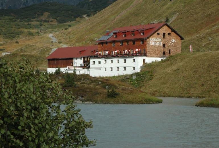 Alpengasthof Zeinisjoch in Galtür, Tirol