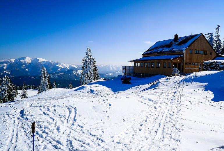 Annaberger Haus im Winter