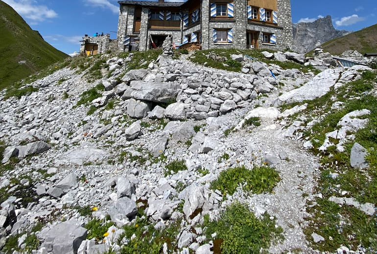 Carschinahütte