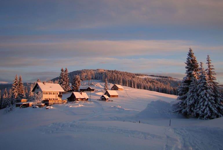 Winteridylle am Ganzalmhaus