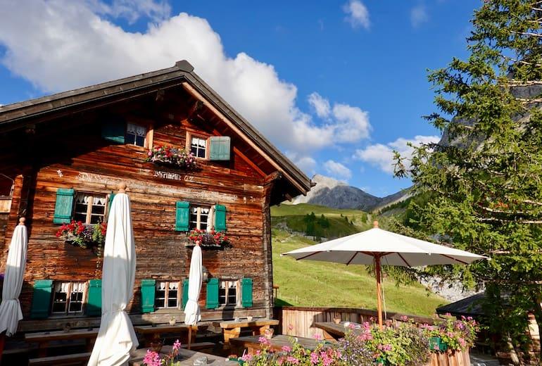 Das urige Berghaus Heimeli