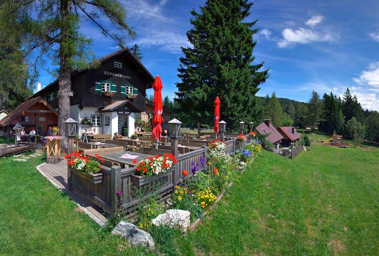 Berggasthof Mönichkirchner Schwaig: Außenansicht