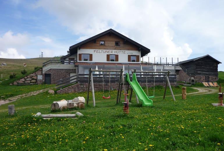 Die Feltuner Hütte