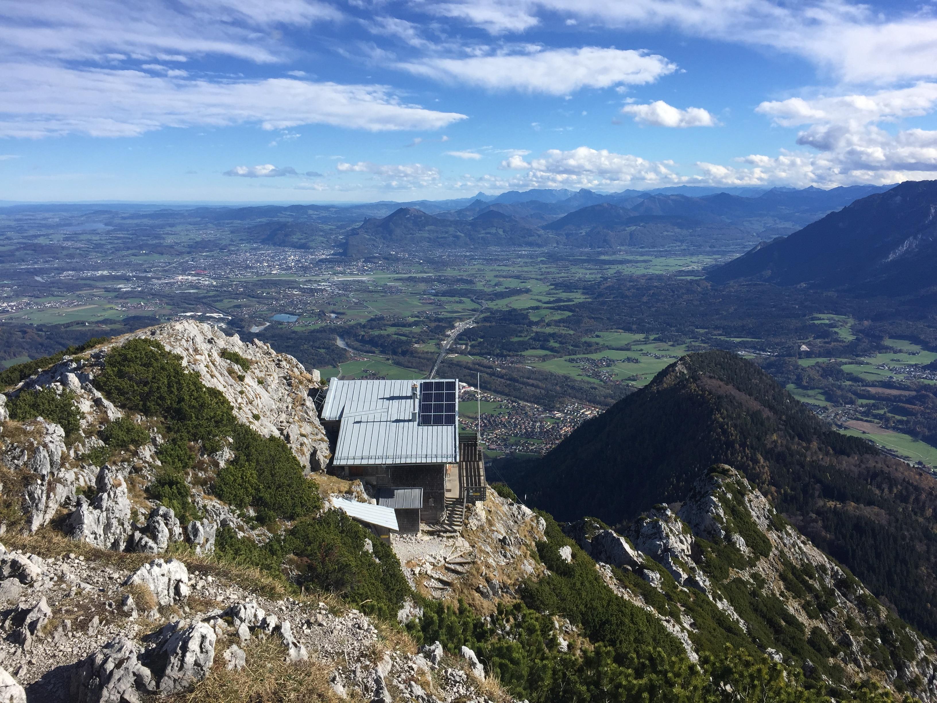 Klettersteig Coburger Hütte : Hütten für die perfekte klettersteigtour bergwelten
